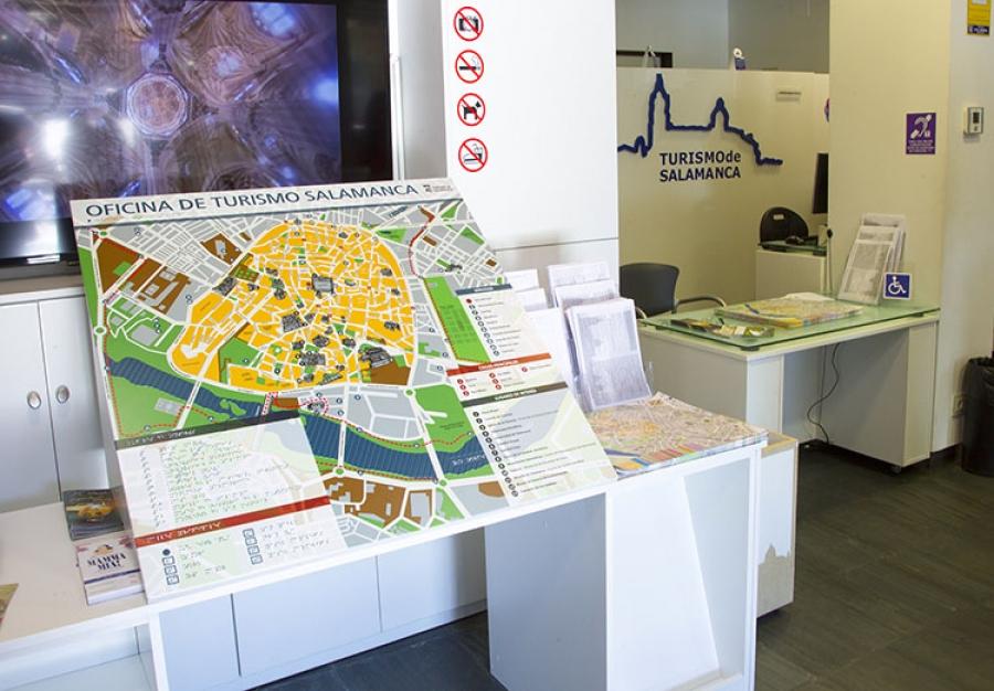 Oficina de informaci n y materiales adaptados - Oficina de turismo en salamanca ...