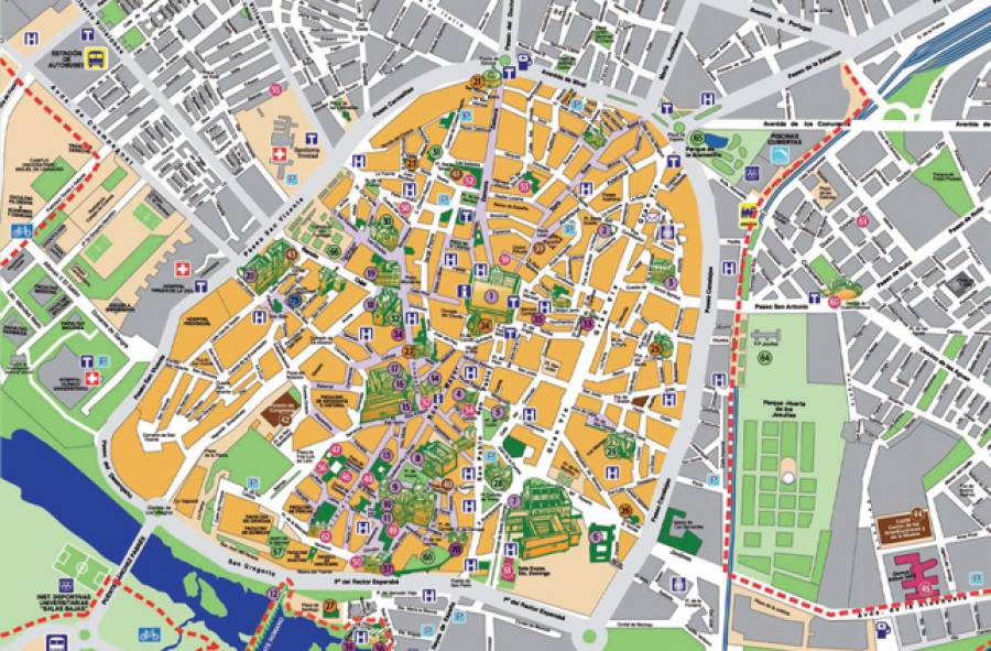 Mapa - Office de tourisme madrid ...