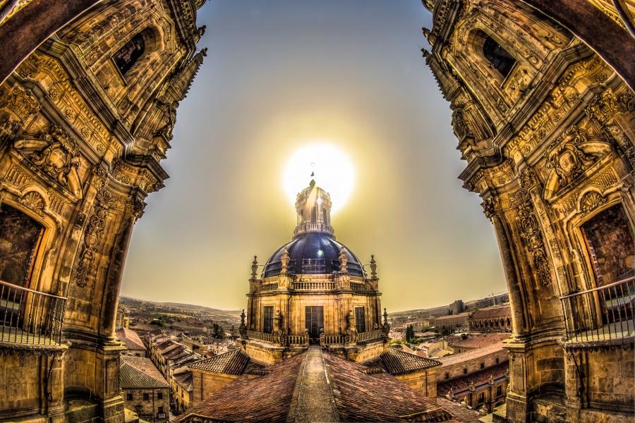 Resultado de imagen de torres de la clerecía salamanca